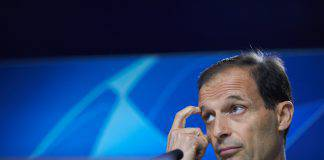 Juventus Atletico Madrid conferenza Allegri