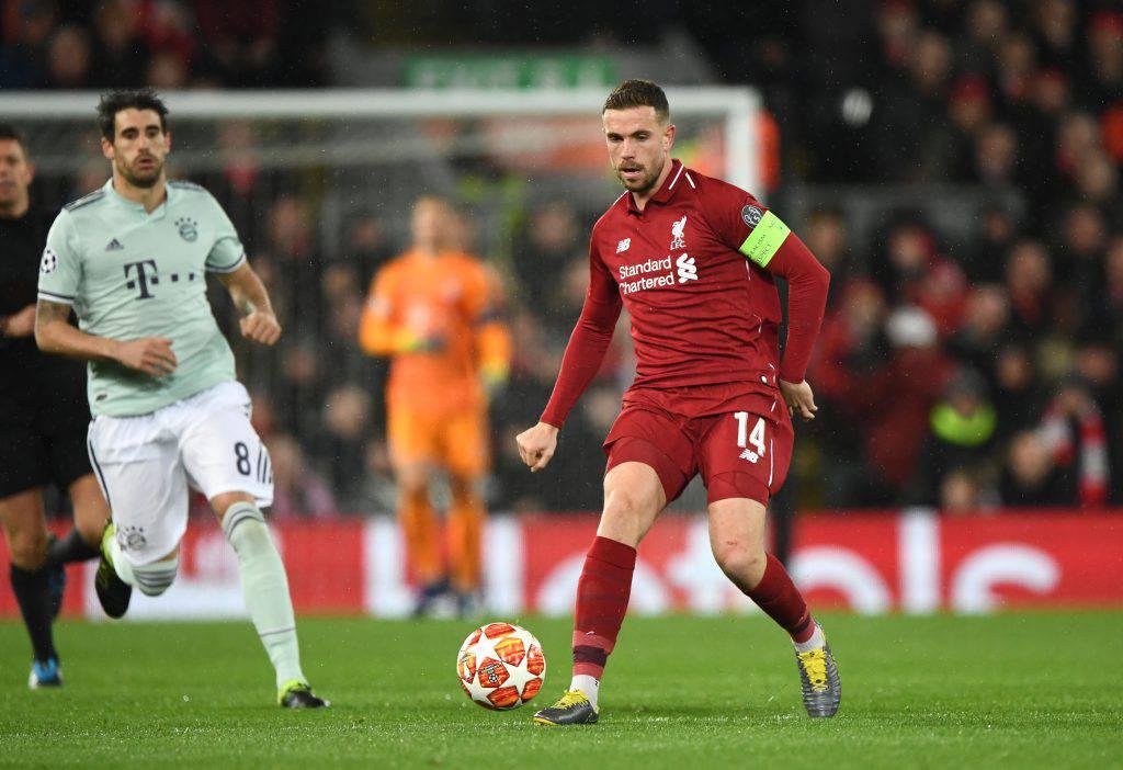 Bayern Liverpool statistiche