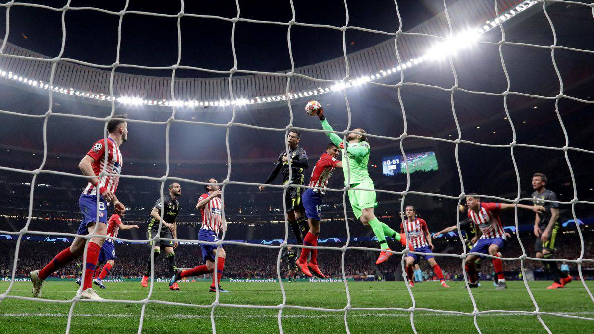 Juventus Atletico Madrid probabili formazioni