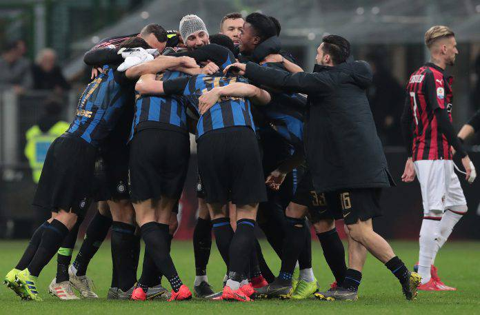 Milan Inter social