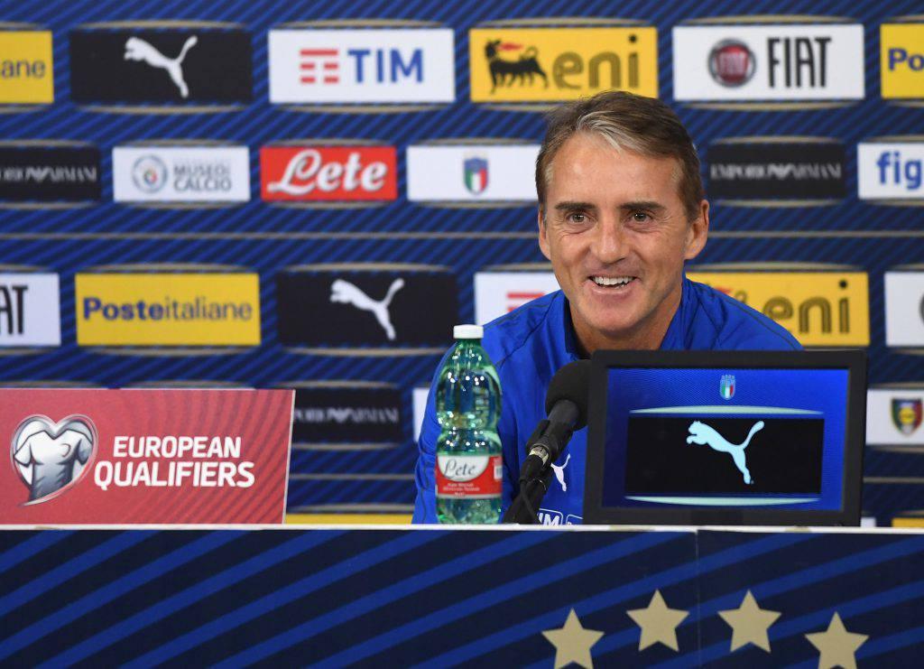 Italia Liechtenstein conferenza Mancini