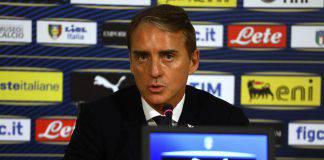 Nazionale conferenza stampa Mancini