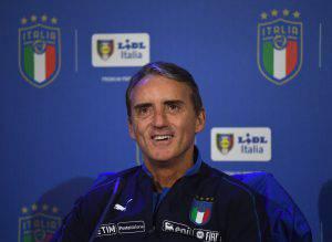 Italia Finlandia conferenza Mancini
