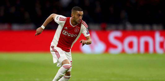 Ziyech Inter, i nerazzurri in corsa per il centrocampista dell'Ajax