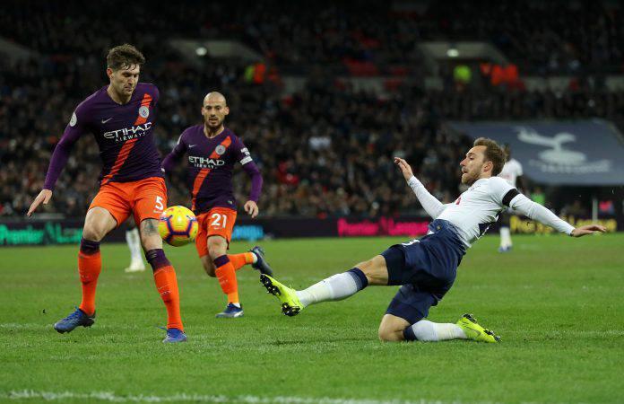 Tottenham Manchester City statistiche