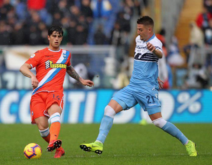Milikovic-Savic in campo con la Lazio