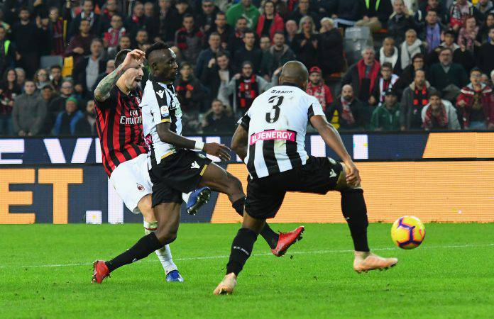 Pagelle Milan Udinese