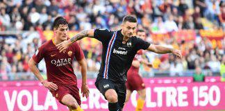 Sampdoria Roma probabili formazioni