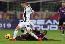 Juventus Fiorentina formazioni ufficiali