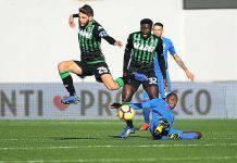 Fiorentina Sassuolo formazioni ufficiali