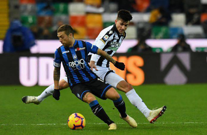 Atalanta Udinese formazioni ufficiali