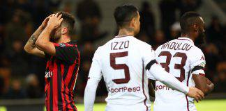 Pagelle Torino Milan