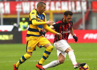 Pagelle Parma Milan