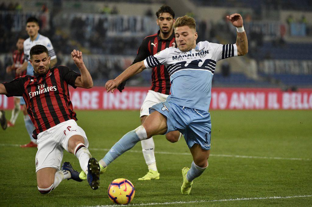 Milan Lazio probabili formazioni