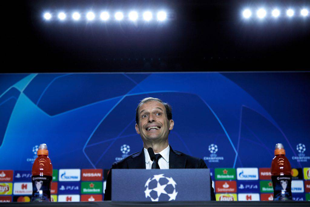 Ajax Juventus conferenza Allegri