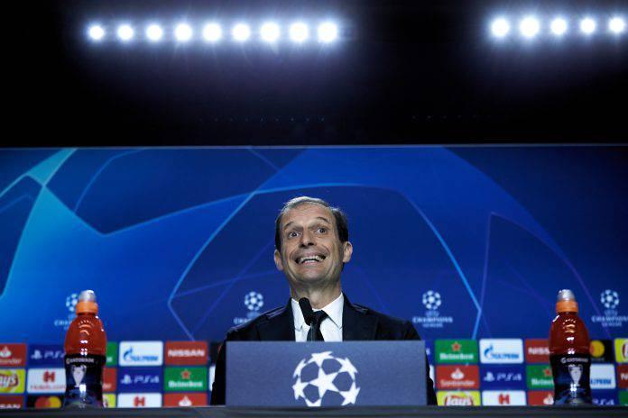 Juventus Ajax conferenza Allegri