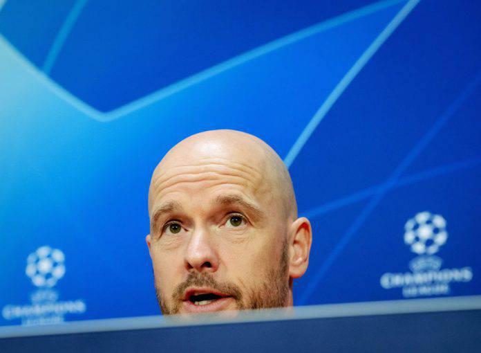 Juventus Ajax conferenza ten Hag