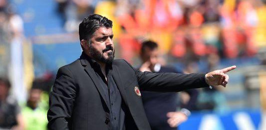 """Milan Lazio, Gattuso: """"Ci sarà da soffrire ma siamo pronti"""""""