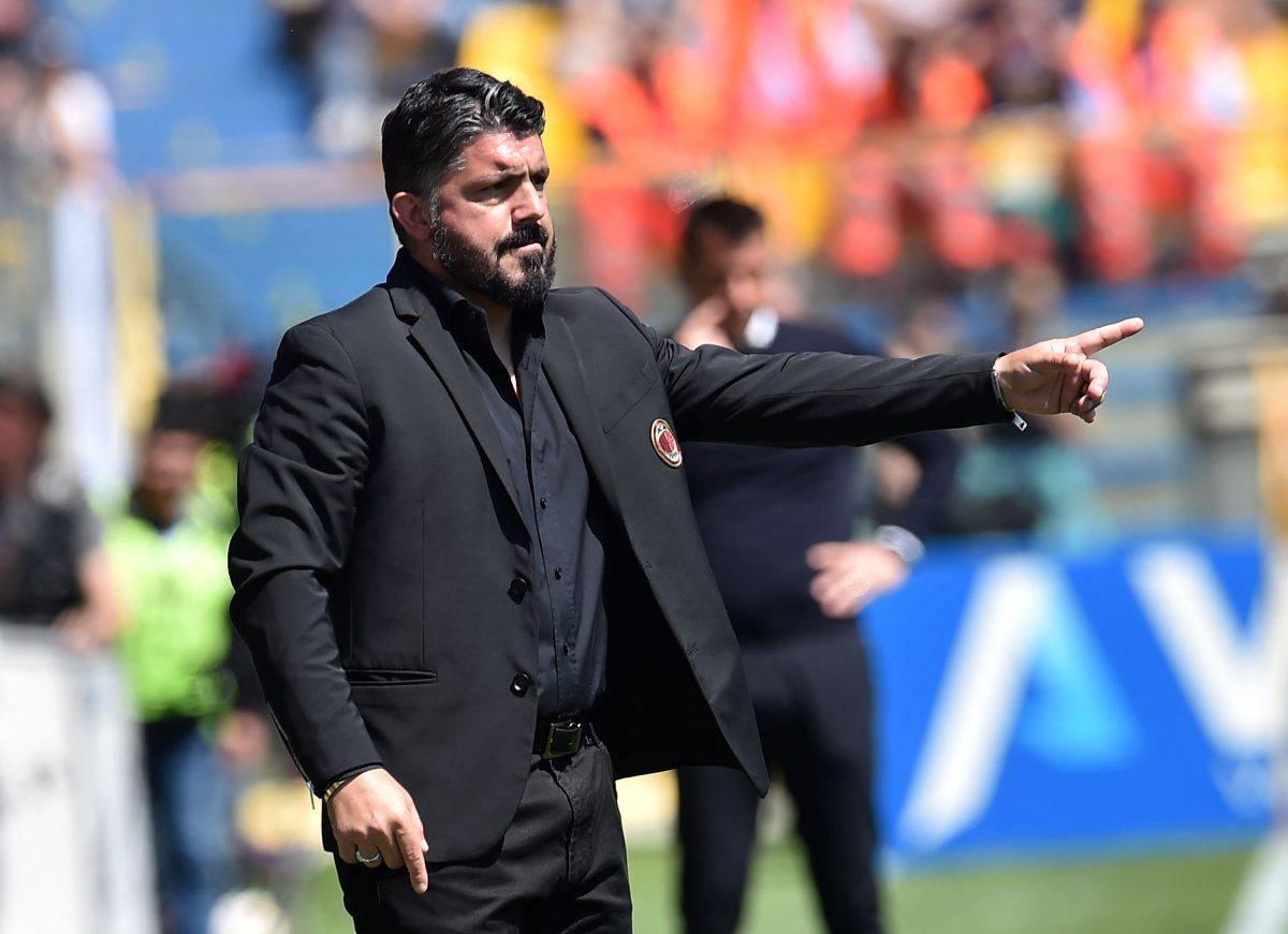 Milan Lazio Gattuso
