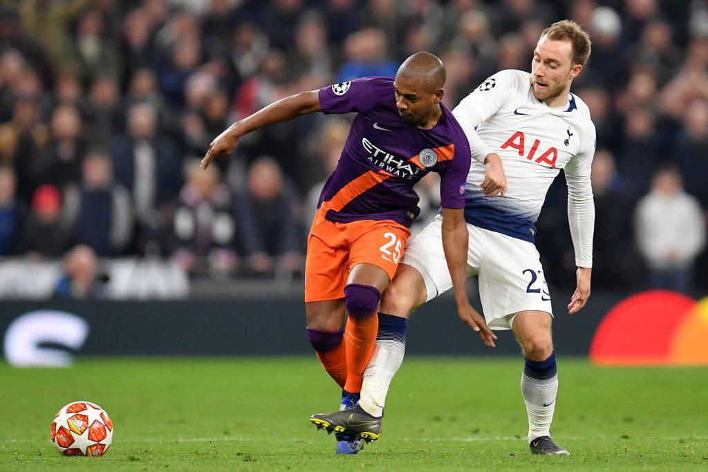 Manchester City Tottenham statistiche
