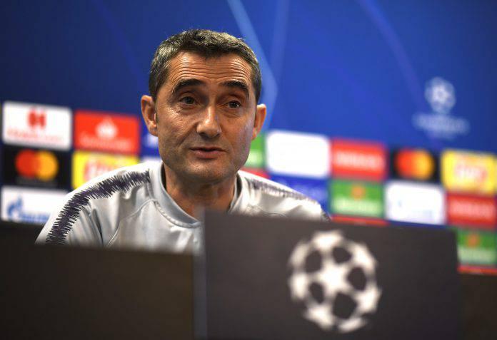 Barcellona Liverpool conferenza Valverde