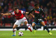 Arsenal Napoli formazioni ufficiali