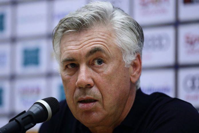 Arsenal Napoli conferenza Ancelotti