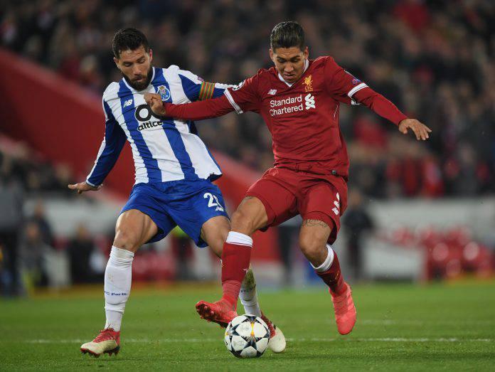 Liverpool Porto probabili formazioni