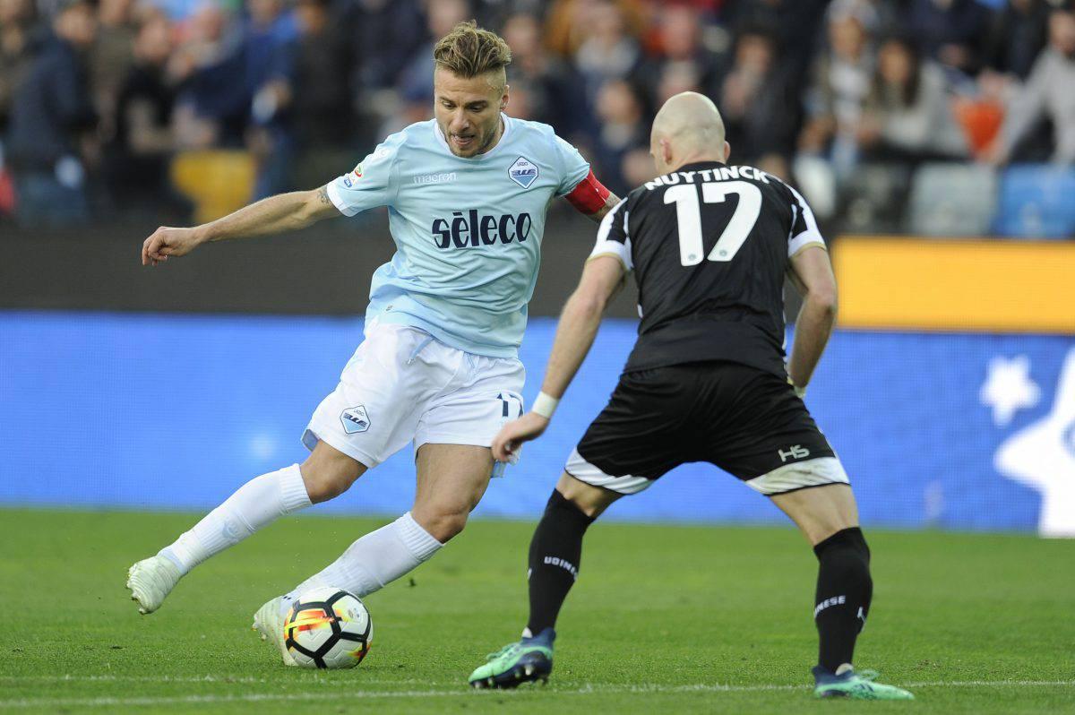 Lazio Udinese formazioni ufficiali