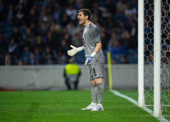 Infarto Casillas