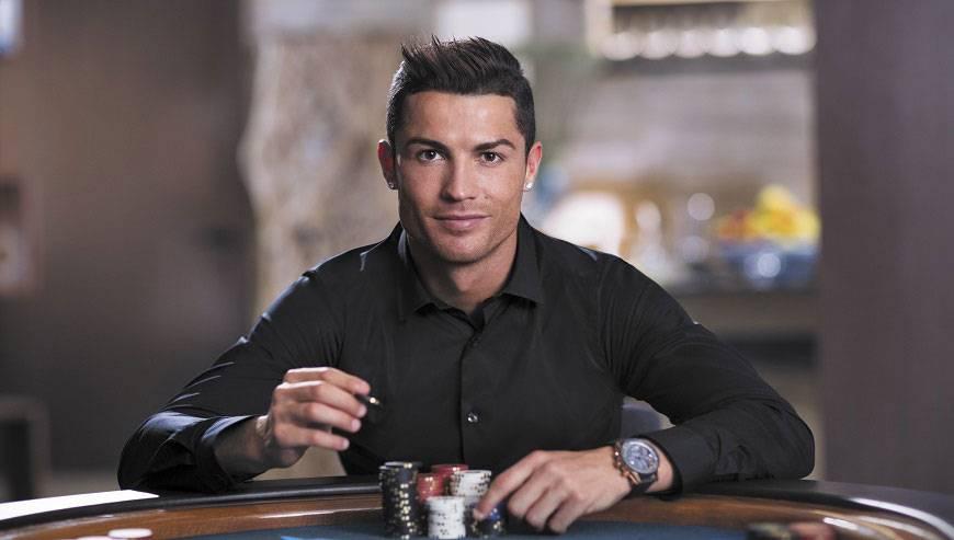 la passione di ronaldo per i casino online