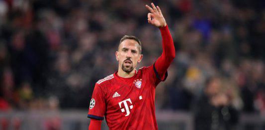 Fiorentina, è arrivato Ribery: su instagram spunta il commen