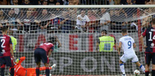 Pagelle e Highlights Cagliari Brescia 0 1: Donnarumma gela l