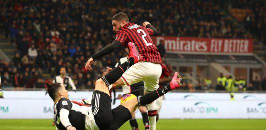 Coppa Italia  Milan Juventus 1 1, tutta la verità sul fallo