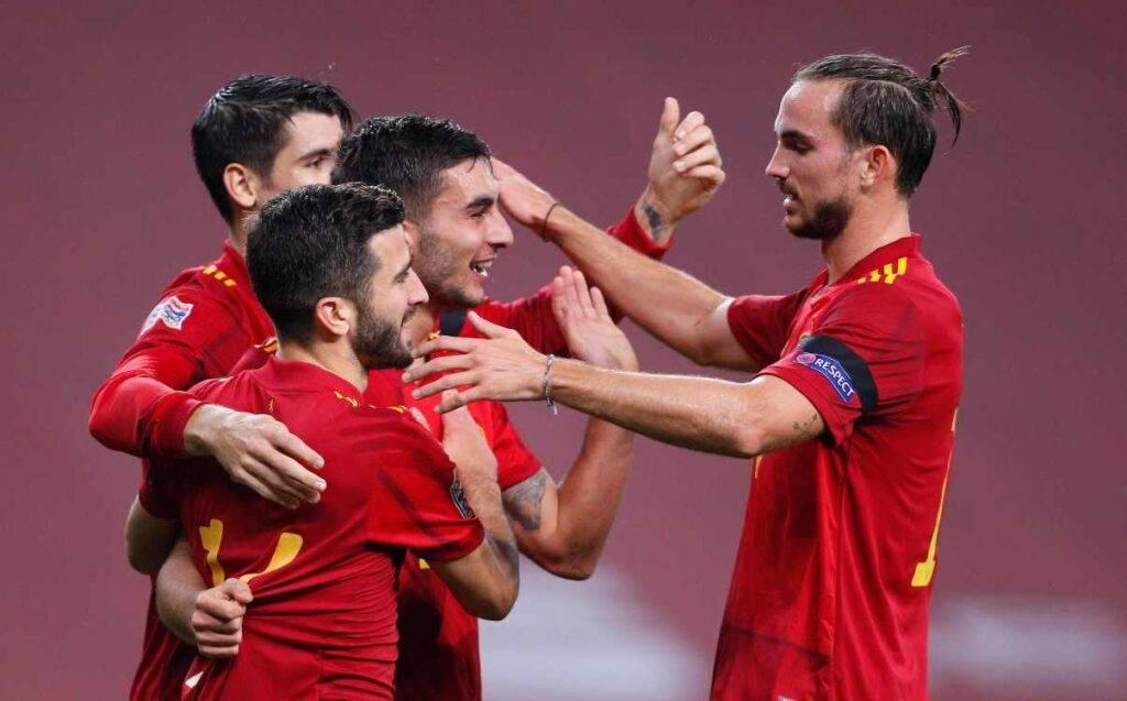 Fabian Ruiz con la Spagna (Getty Images)