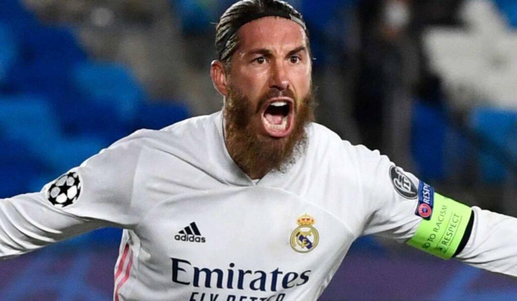 Infortunio Sergio Ramos