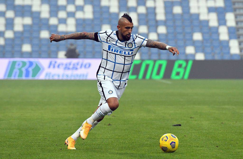 Sassuolo Inter Vidal