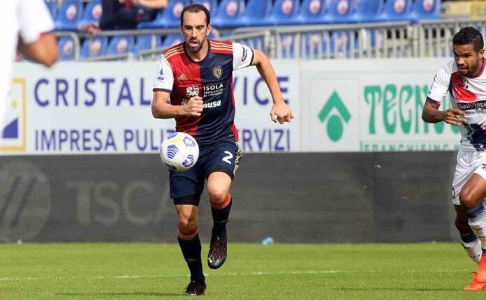 Cagliari Godin Juventus Cristiano