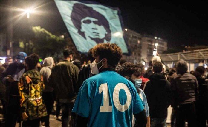 Napoli maglia Maradona