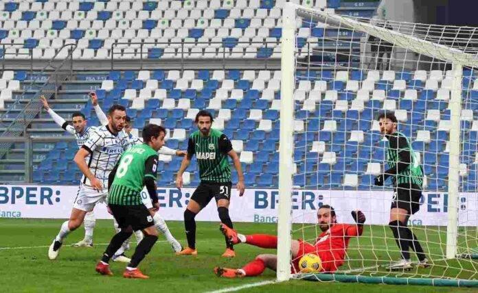 Sassuolo Chiriches Inter