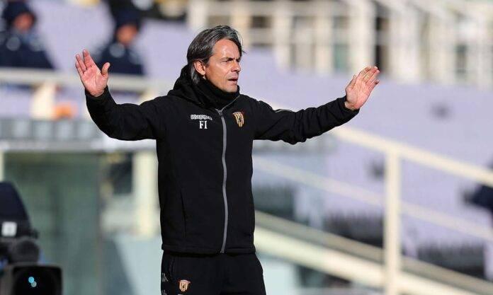 Inzaghi Benevento Fiorentina