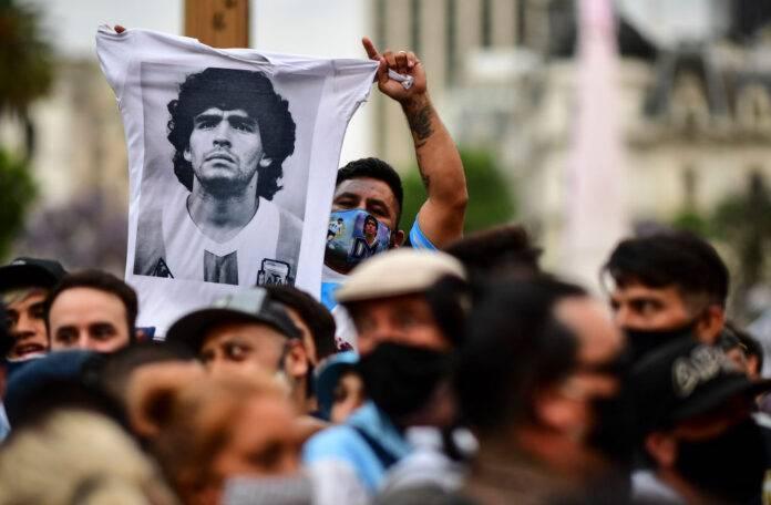 Maradona Napoli foto video