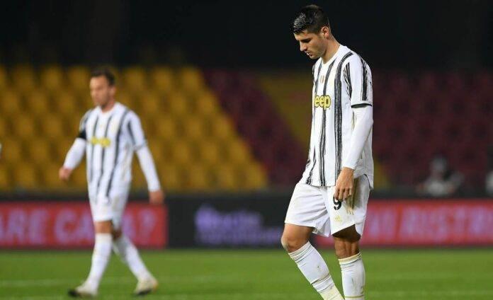 Juventus Morata rigore