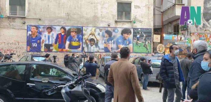 Napoli Maradona aggiornamenti