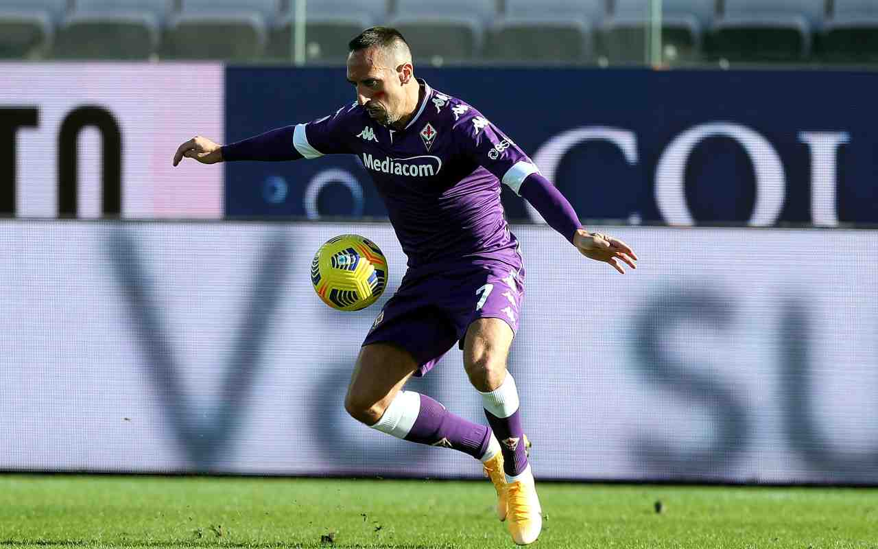 Fiorentina Prandelli gol Castrovilli Ribery