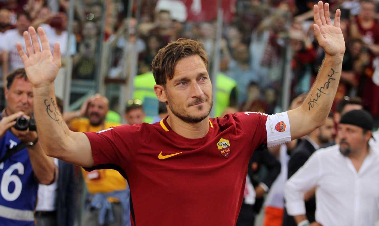 Roma Totti Covid