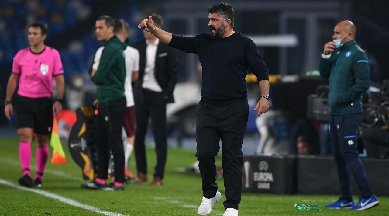 Napoli, Gattuso: il rimpianto con Maradona e il 'viaggio' in Brasile