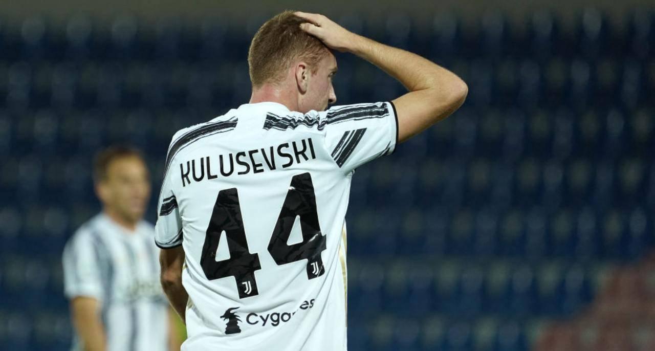kulusevski in azione