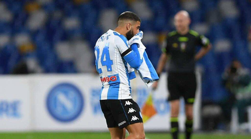 napoli roma insigne gol maradona