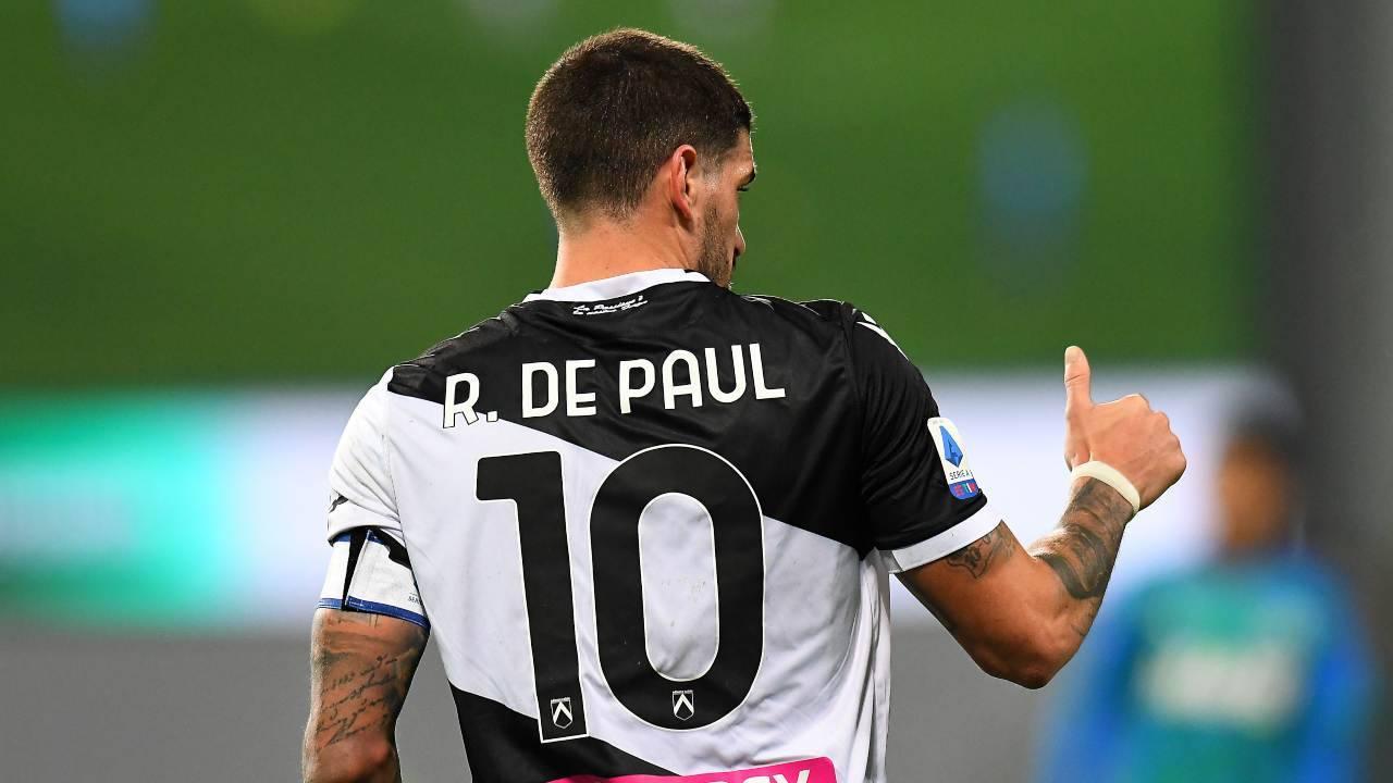 De Paul Juventus Milan Inter